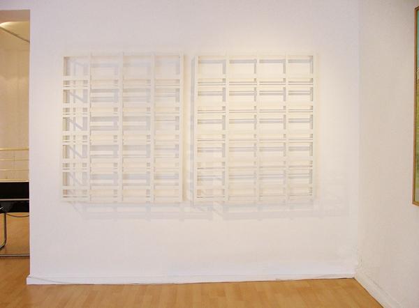 Diptyque, 110 x 90 x 10 cm, 2008