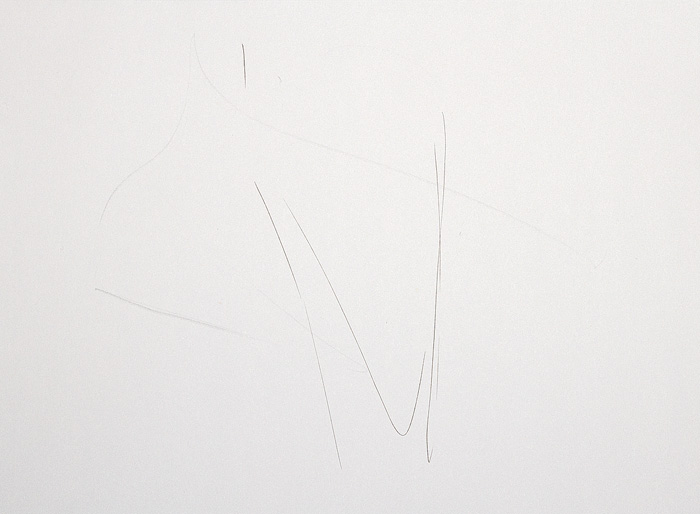 Crayon et encre sur papier, 30 x 42 cm