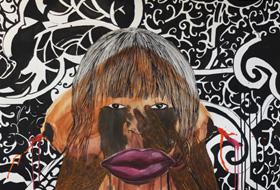Leslie Amine - exposition Cameroun