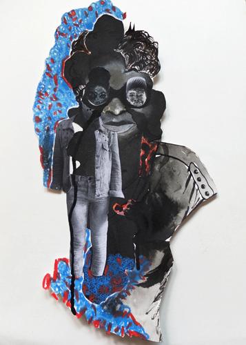 encre, gouache et crayon sur papier, 46 x 33 cm, 2015
