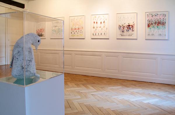 Vue de l'exposition <i>Rencontres fortuites</i>, Galerie Domi Nostrae, Lyon, 2016