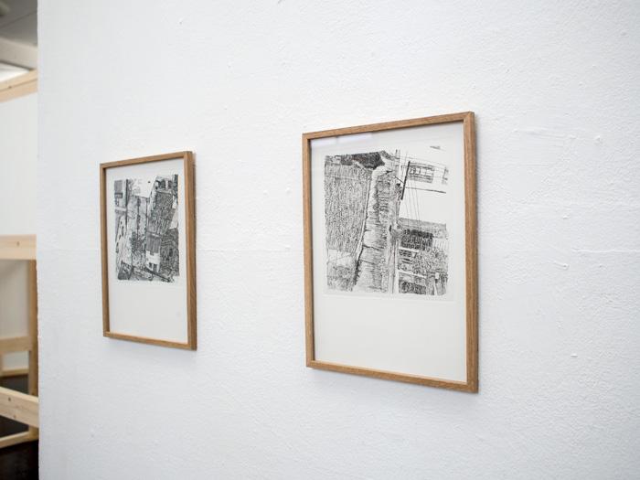 <i>Sans titre</i>, eau-forte, 24 x 32 cm, 2009-2011