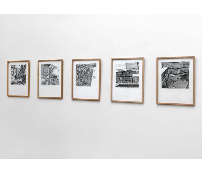 <i><b>Sans titre</b></i>, série 2009-2011</br>Eau-forte, 32 x 24 cm</br>Photo : © G.J. van Rooij