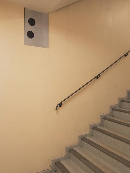Escaliers de l'hôpital