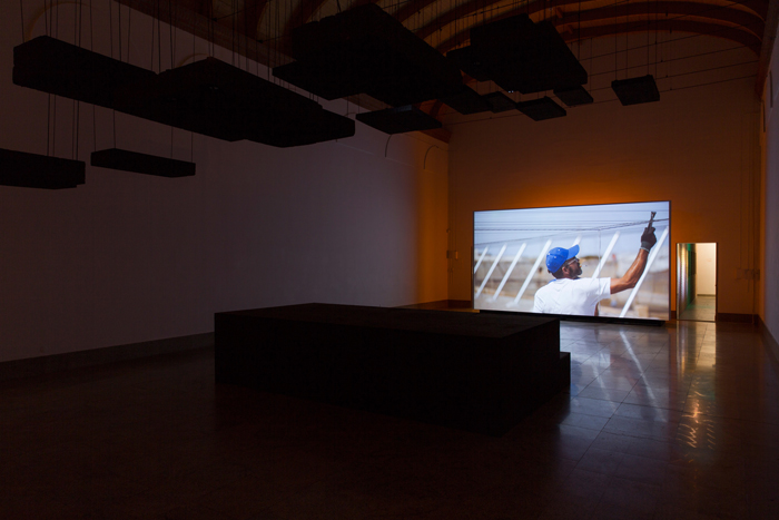 Vue de l'exposition <i>Nos yeux vivants</i>, Centre International d'Art et du Paysage de l'île de Vassivière, 2019<br/>Photo : © Rafaël Trapet